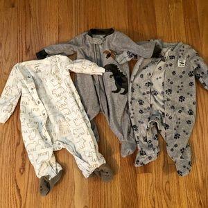 Carter's Fleece Sleep and Play Outfits